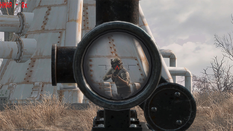 See-Through Scopes Fallout addon