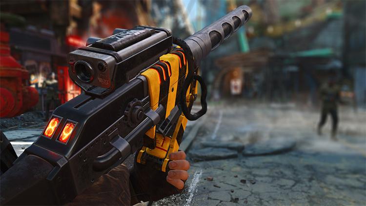 Wattz Laser Gun Fallout
