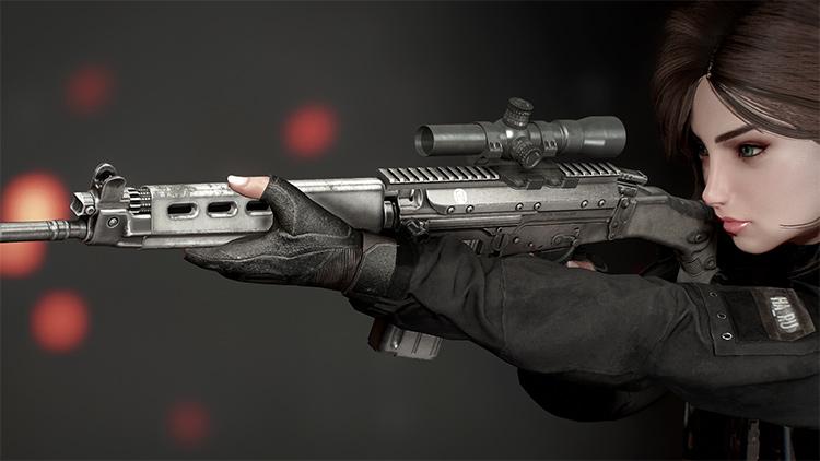 FN FAL SA58 Fallout