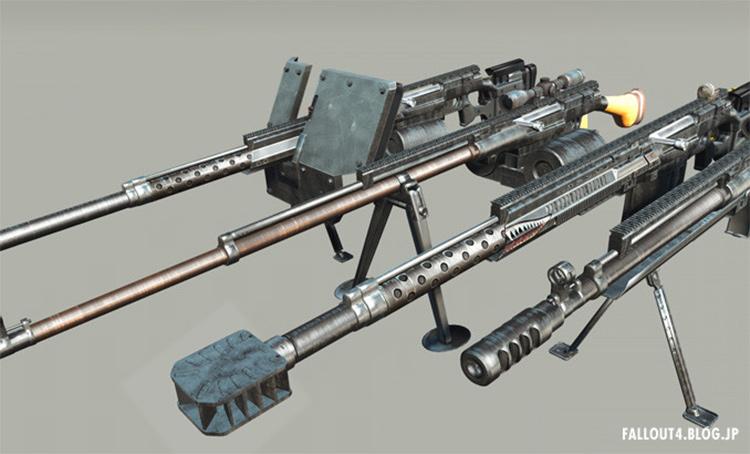 PTRS-41 Anti-Tank Rifle FO4