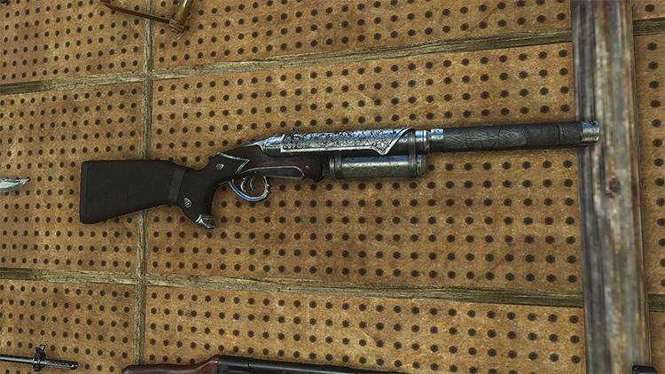 Widow Shotgun FO4