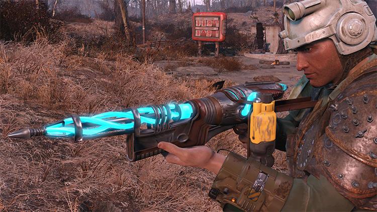Alien Assault Rifle FO4