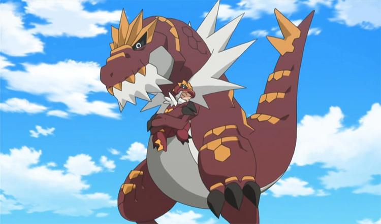 Tyrantrum in Pokemon