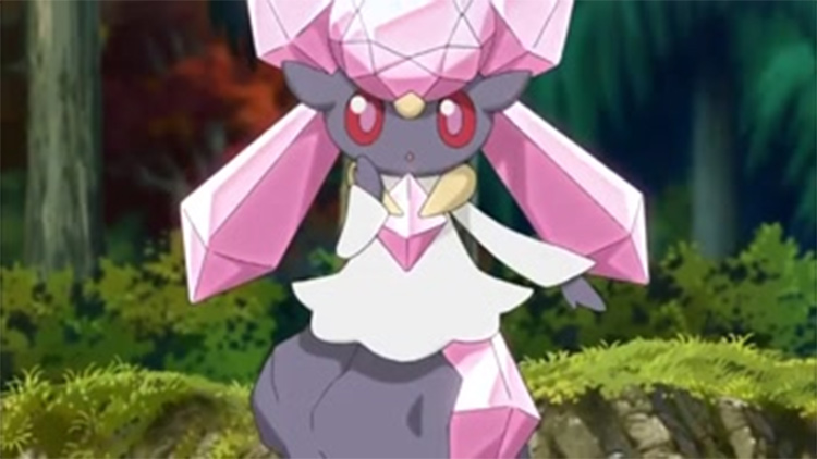 Diancie in the anime