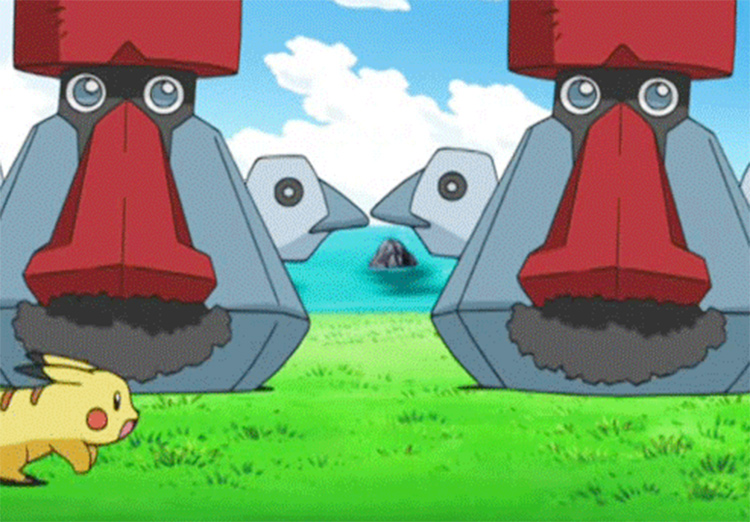 Probopass in the anime
