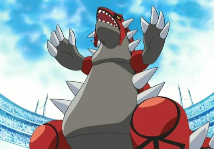 Groudon Pokemon anime