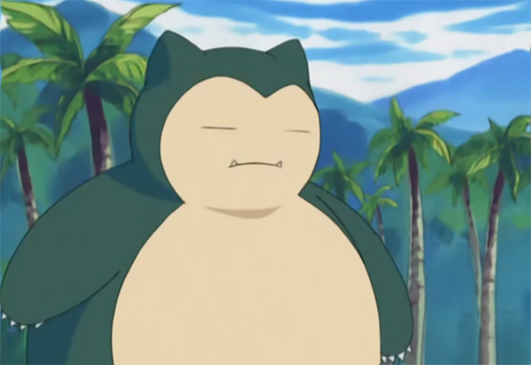 Snorlax in the anime