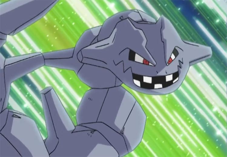 Steelix in Pokemon anime