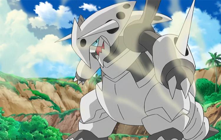 Mega Aggron in Pokemon Anime