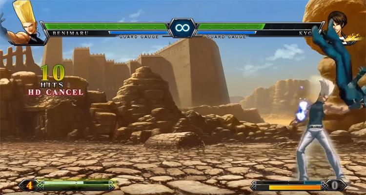 KoF XIII screenshot