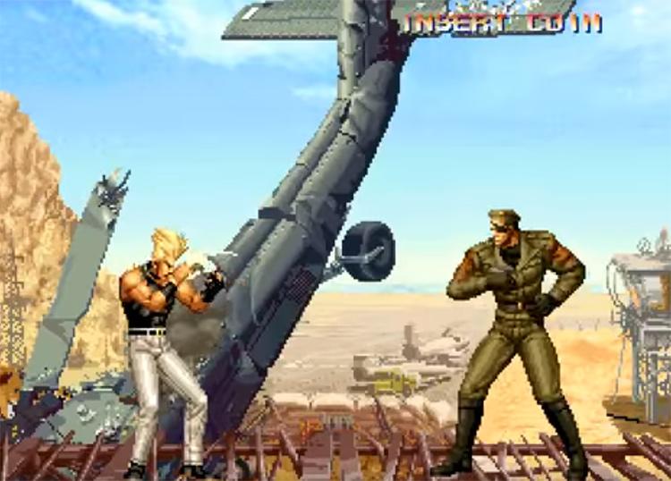 KoF 95 screenshot