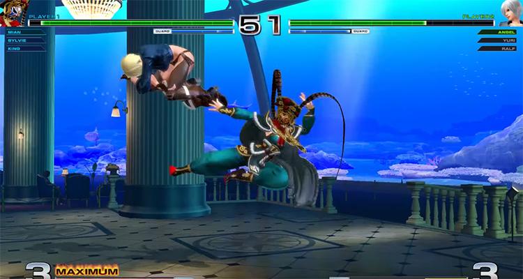 KoF XIV screenshot