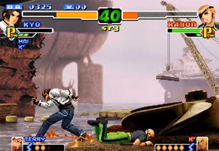 KoF 2000 game
