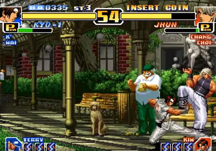 KoF 1999 gameplay screenshot