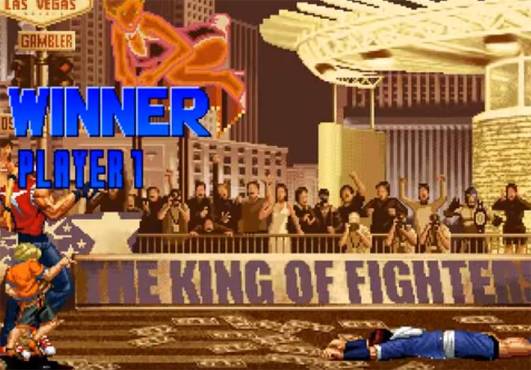 KoF 2001 gameplay screenshot