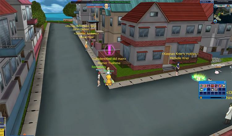 Digimon Masters screenshot