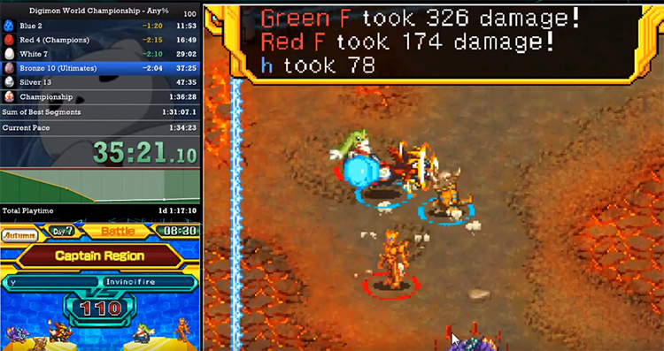 2008 Digimon World Championship game screenshot