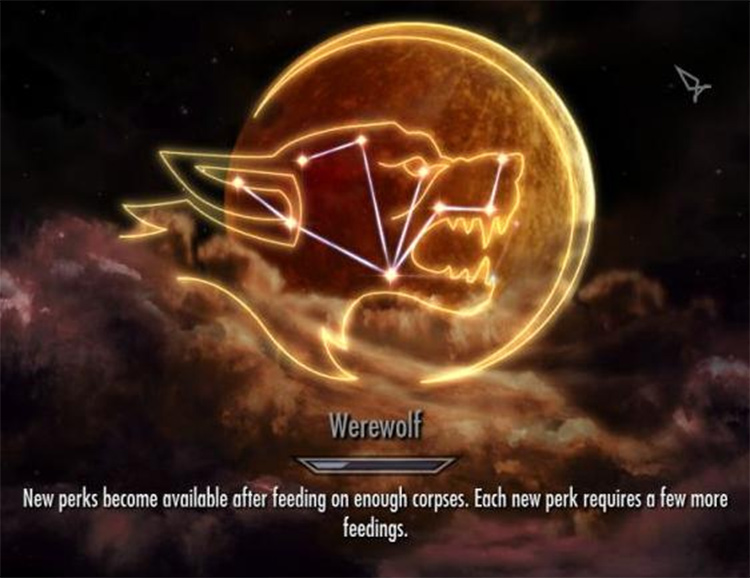 Werewolf Perks Expanded mod
