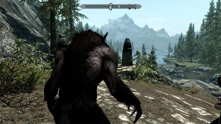 Werewolf Revert Form mod