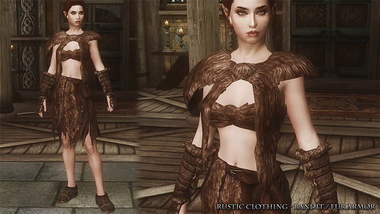 Rustic Clothing mod