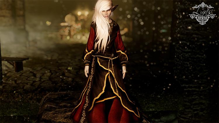 Necromancer Robes revamp mod