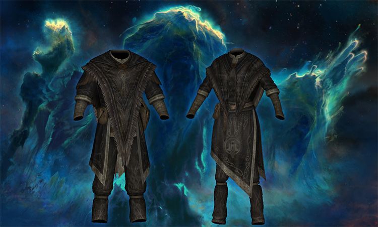 Archmage of Winterhold retexture mod