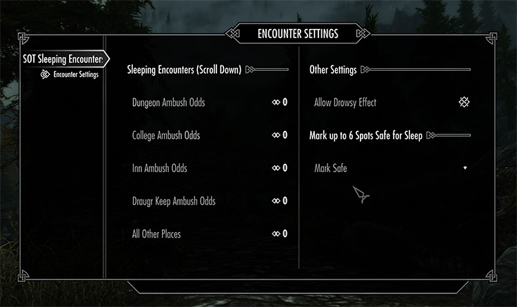 Sands of Time Sleeping Encounters mod