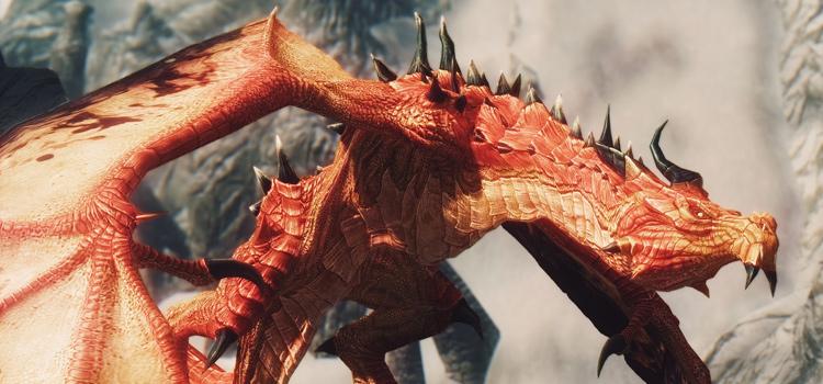 Red dragon customized - Skyrim mod