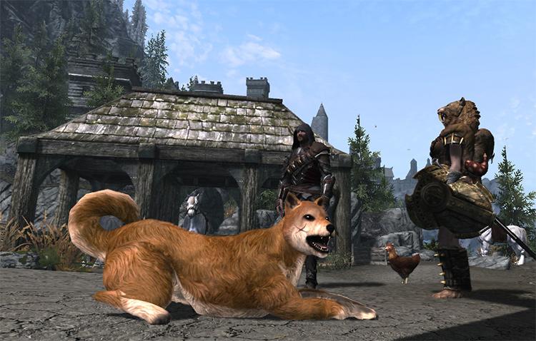Pets of Skyrim mod