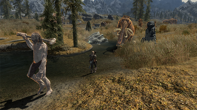 One with Nature mod Skyrim