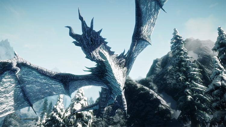 Elemental Dragons Skyrim mod