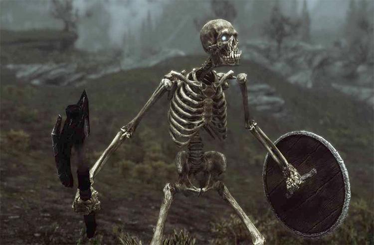 Beast Skeletons Skyrim mod
