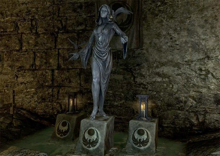 Shrine of Nocturnal in Skyrim