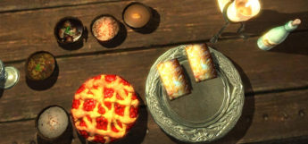 Pie and dessert tarts - food in Skyrim