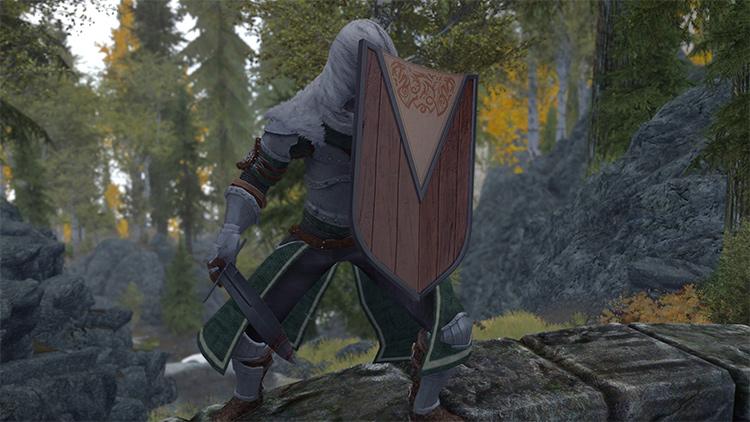 Traveler's Shield for Skyrim