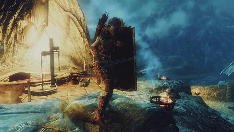 Black Iron Greatshield mod