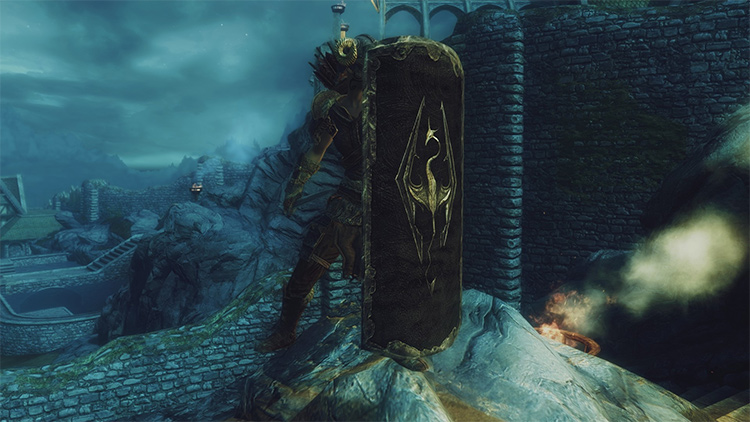 Imperial Iron Greatshield mod
