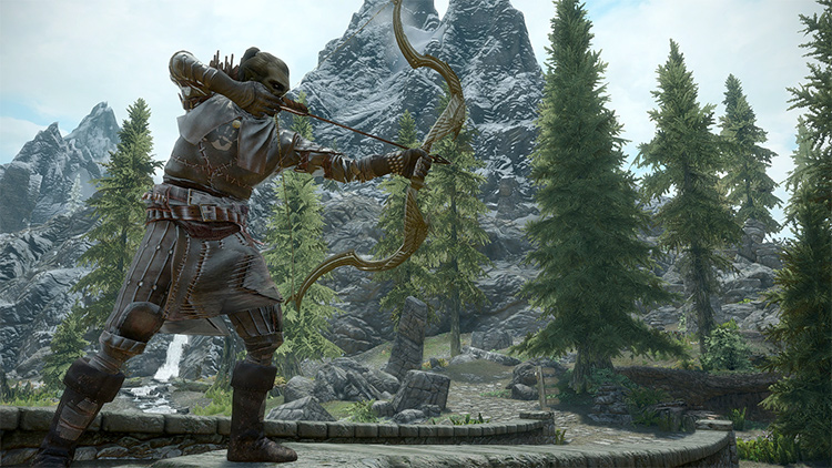 Archery Gameplay Overhaul Skyrim mod