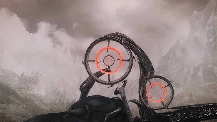 Scoped Bows in Skyrim