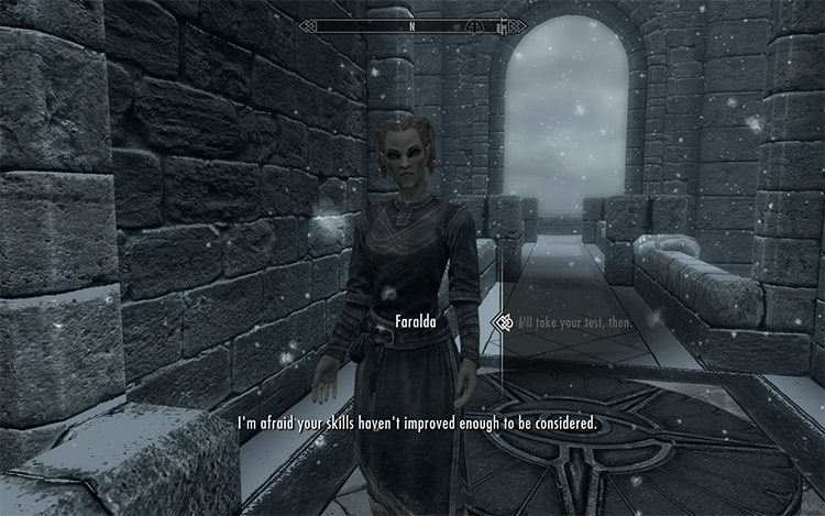 Winterhold Entry Requirements Skyrim