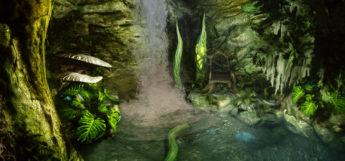 Den interior - Argonian Skyrim player home mod