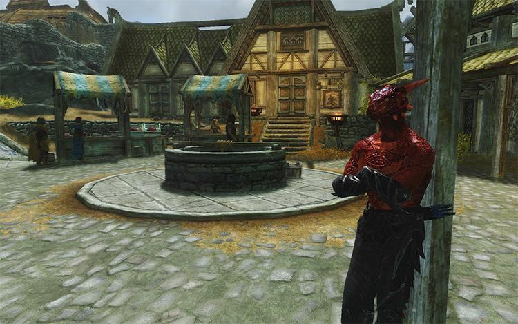 Argonian Mercenary Armor mod