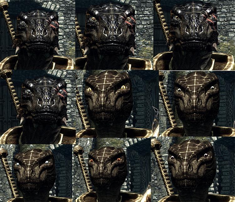 Argonian Snake Eyes mod