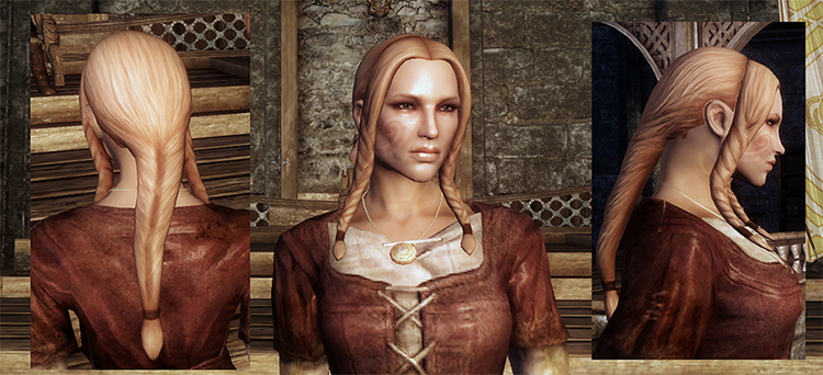 Lore Styles Hair Set Skyrim