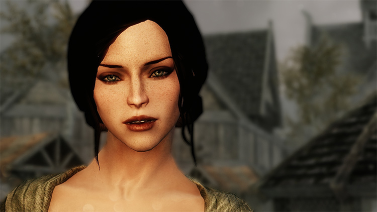 Better Female Eyebrows mod