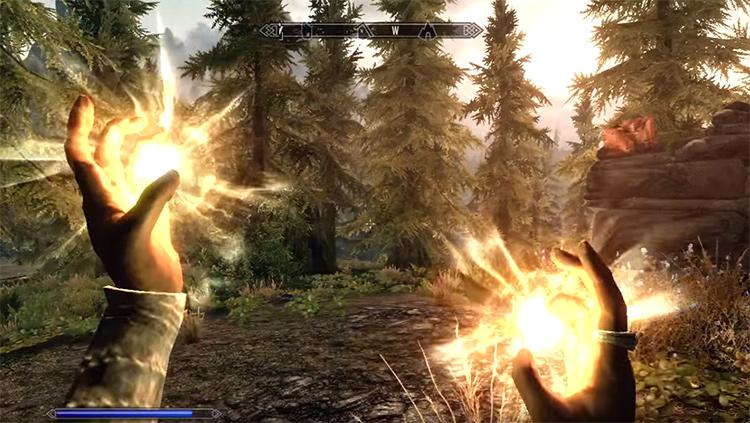 Fast Healing in Skyrim