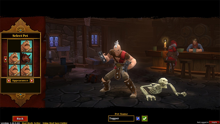 Starter Pets mod Torchlight2