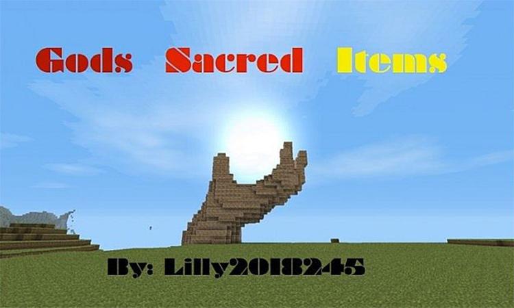 Gods Sacred Items mod