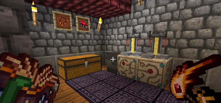 Tibia in Minecraft - mod screenshot