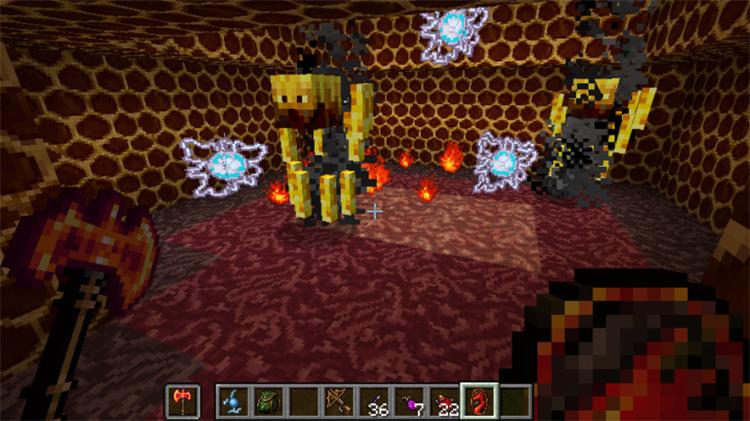 Tibia Minecraft mod